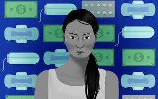 cuánto cuesta menstruar en Ecuador